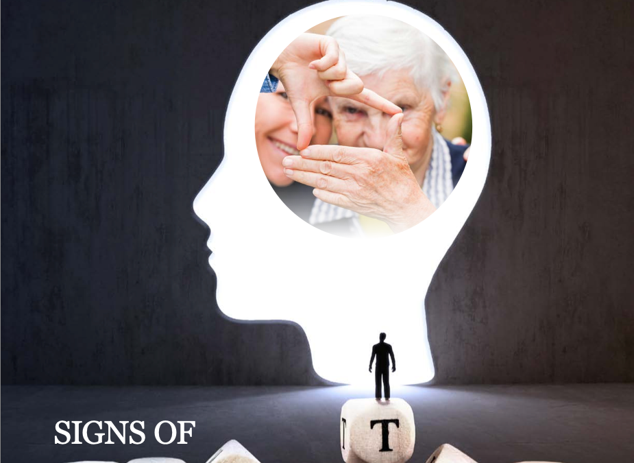 """Download """"Signs of Dementia"""" booklet"""